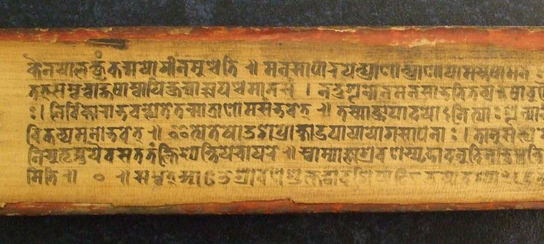 'The Old Vedic language had its origin outside the subcontinent. But not Sanskrit.'