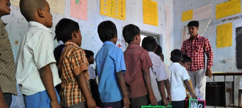 Teachers are still using the stick in Indian schools and parents aren't doing anything to stop it