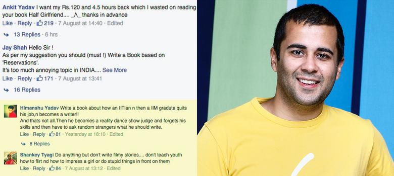 Chetan Bhagat wanted to know, and the nation told him