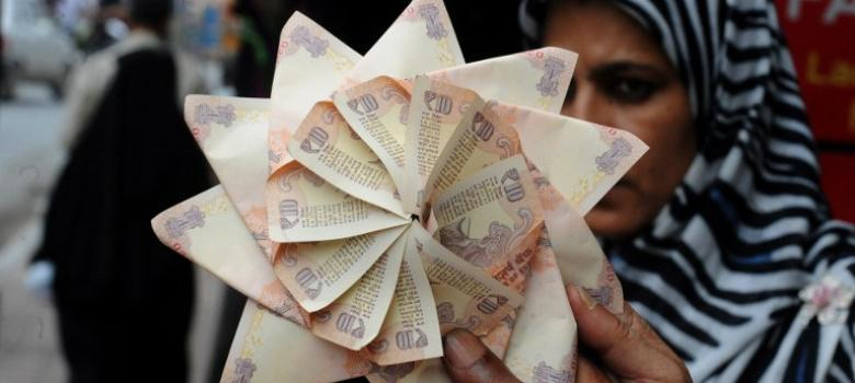 The markets may be tanking but these two charts show the Indian rupee has some fight in it