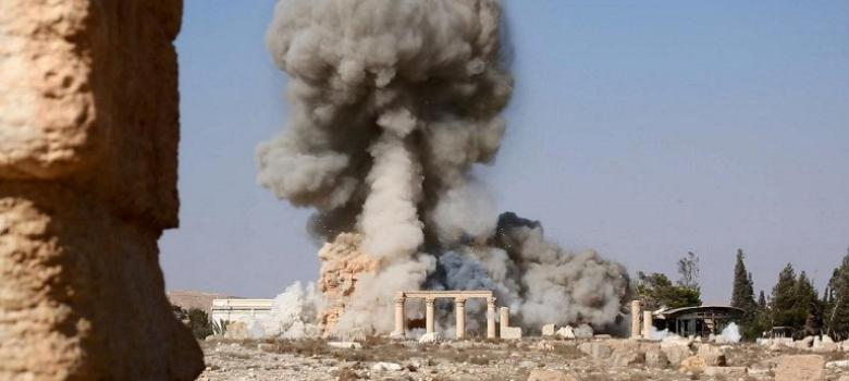 ISIS demolition of Palmyra temple has lessons for both Left and Right in India