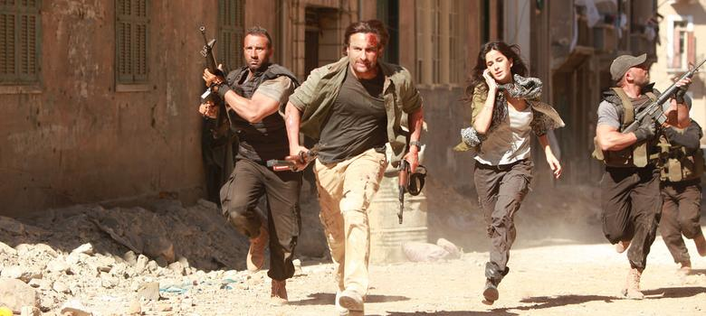 Film review: 'Phantom' is the latest Bollywood movie to wage war on behalf of India
