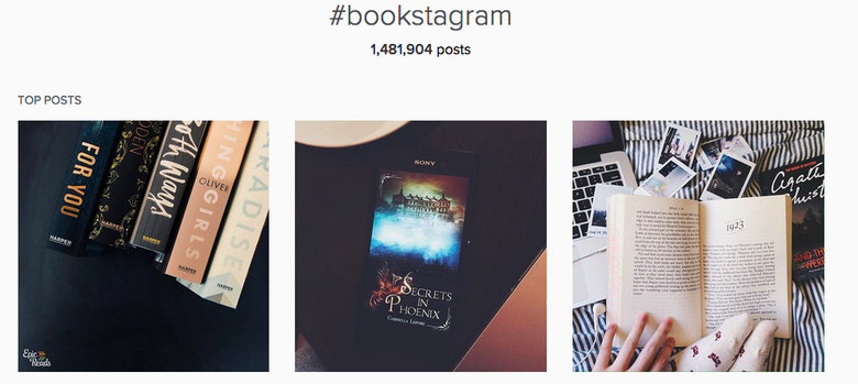 How social media is helping me discover books. No, really!