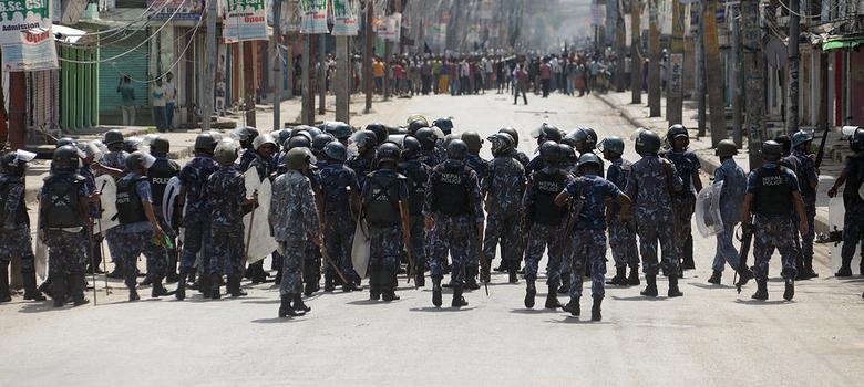 India's 'blockade' of Nepal border tears an already divided nation