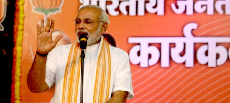 Modi gives in to 'microscopic minority', refers to Dadri lynching at a Bihar rally