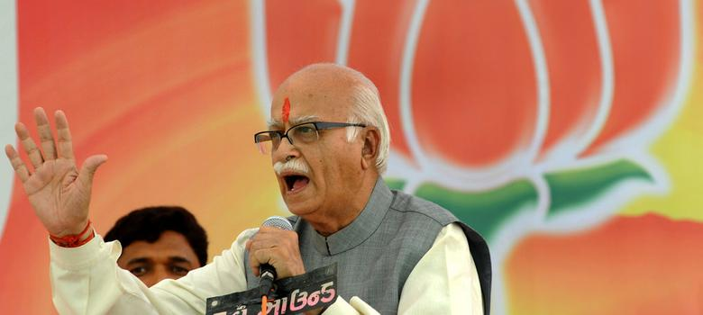LK Advani: The harbinger of violence is today evangelising about tolerance