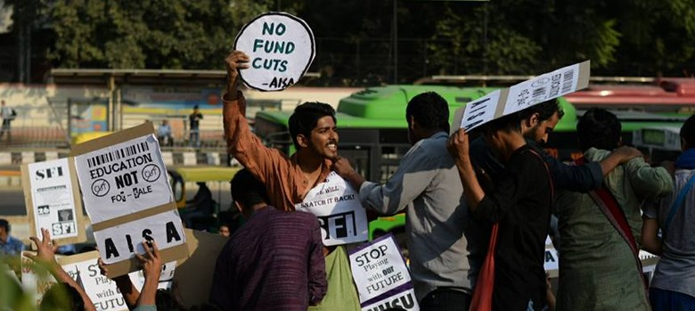 As India  grapples with #OccupyUGC, it could learn from South Africa's #feemustfall protests