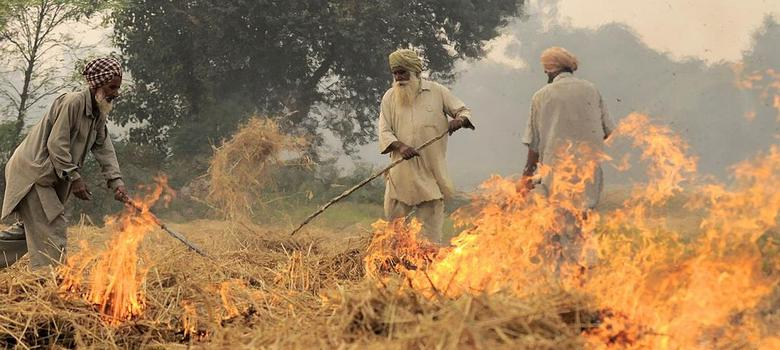 This stunning satellite image shows how Punjab's farms are literally on fire