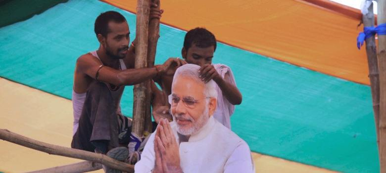 Two charts and one graph show how the BJP's scare tactics in Bihar cost it dear