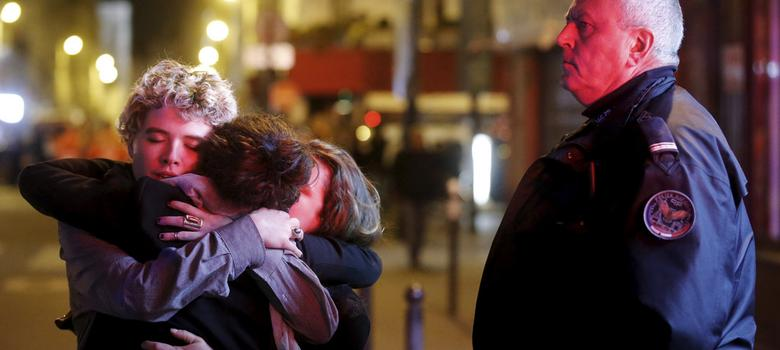 First person: Faced by surreal terror, people huddled together, strangers showed kindness