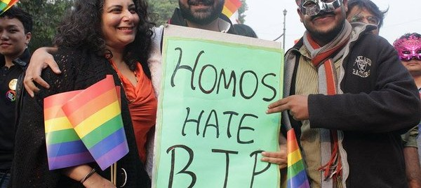 At Delhi Pride march, Jaitley's support for gay rights draws both bouquets and brickbats