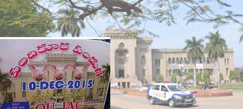 Beyond beef and pork festivals: The fight for public space in the Osmania University campus