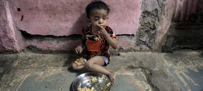 Fewer young children are malnourished in India but undernourished population still high