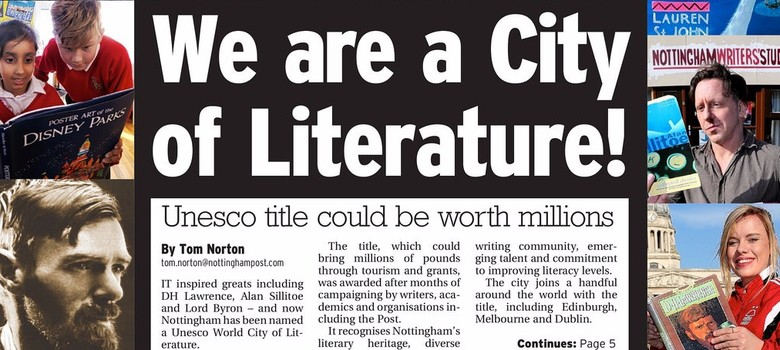 How to become a UNESCO City of Literature: What Indian cities can learn from Nottingham