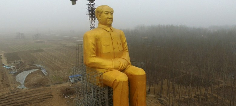 China destroys giant Mao statue worth 3 million yuan