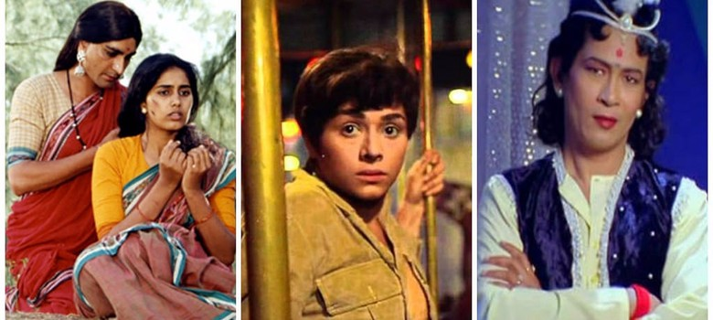 What happens when Indians cross-dress for the screen?