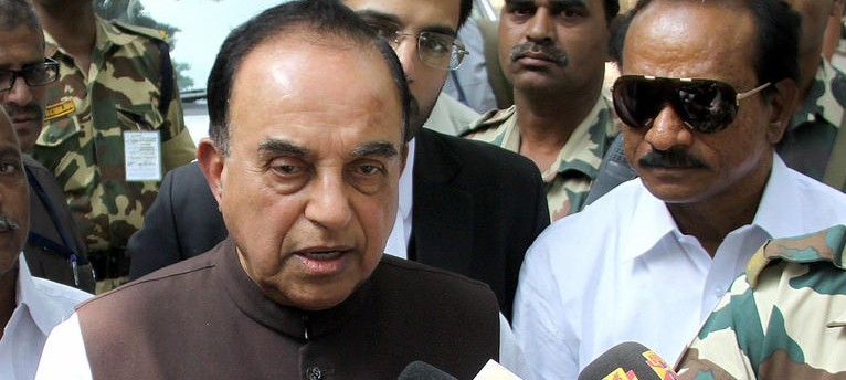 Give us three temples, keep 39,997 mosques, Subramanian Swamy tells Muslims