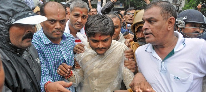 As Hardik Patel is charged with sedition, Patidars vow to continue quota stir