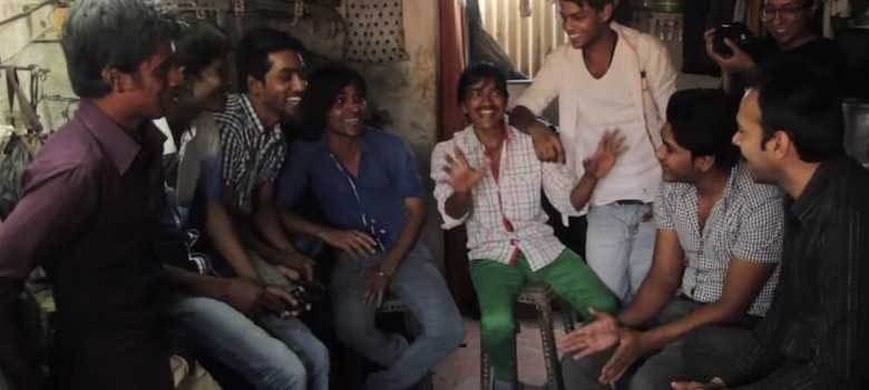 What happens when the crime show 'CID' is recreated in one of Mumbai's poorest areas