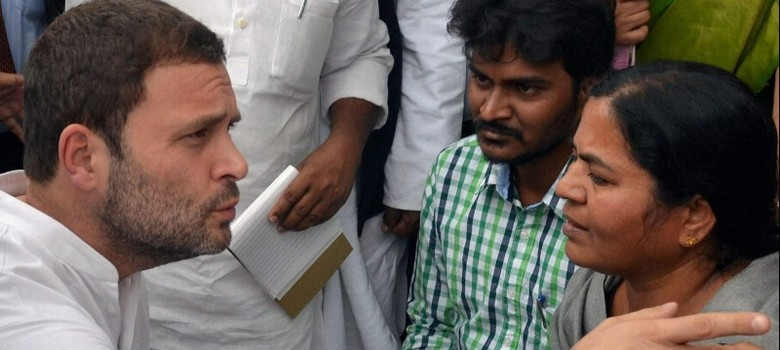 As BJP flounders after Rohith Vemula's suicide, Congress eyes the Dalit and youth vote
