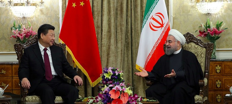 Iran strengthens ties with China, says it never trusted the West