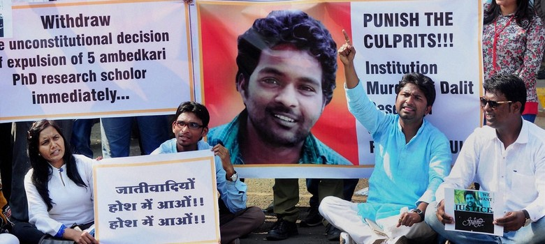 Rohith Vemula suicide: Students launch another hunger strike, demand vice-chancellor's resignation