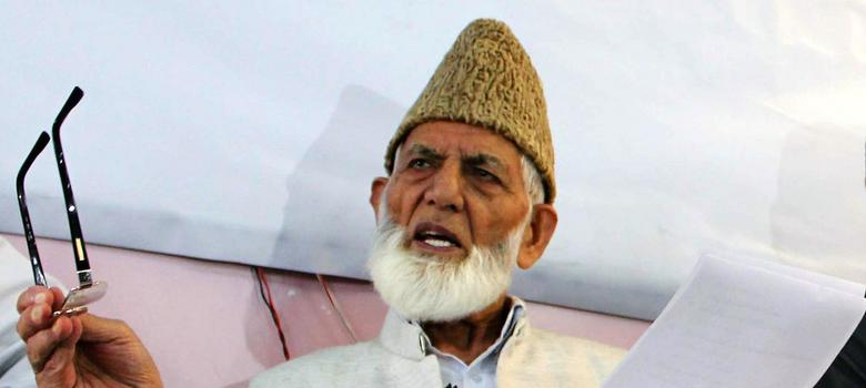 Syed Ali Shah Geelani says it's unlikely ISIS has expanded to Kashmir