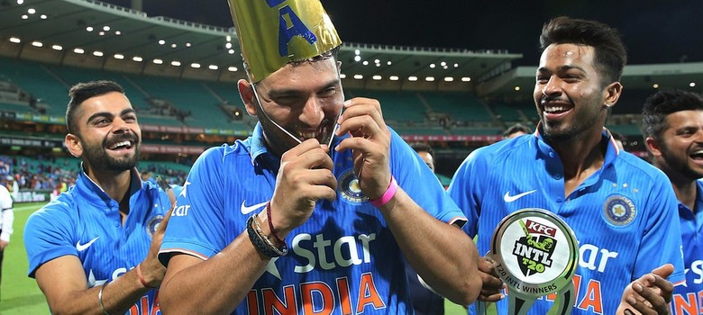 Third India-Australia Twenty20: Yuvraj Singh finally erases the scars of 2014