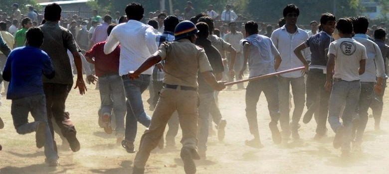 India's colonial hangover: Why the police still resort to lathi-charges
