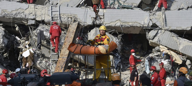Taiwan earthquake: Toll climbs to 35, more than 100 still missing under rubble of collapsed building