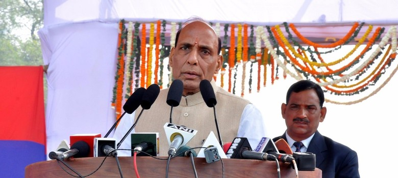 JNU student protests had support of LeT chief Hafiz Saeed, says Rajnath Singh
