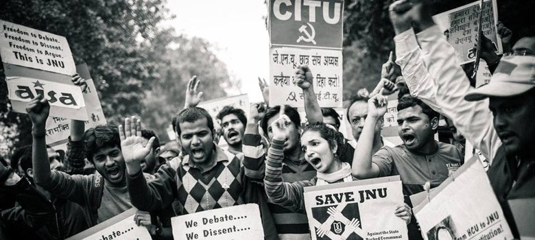 Dissent is democracy: Voices from Delhi's massive JNU solidarity march