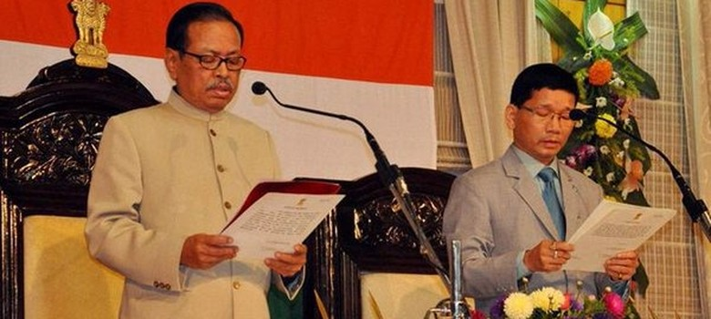 Kalikho Pul sworn in as Arunachal Pradesh chief minister