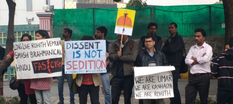 Universities from around the world show solidarity with JNU students