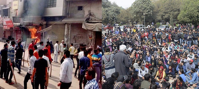 Four reasons why the JNU and Jat agitations are worlds apart...