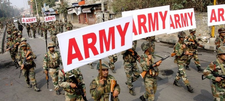 Jat agitation: As police flail, Army holds up signs to show it means business