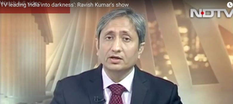 Dear Ravish, you brilliantly made visible the darkness on TV – but you got one detail wrong