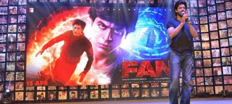 Screams and sweat at trailer launch of new Shah Rukh Khan movie 'Fan'