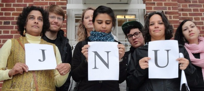 Academics abroad must #standwithJNU despite the hate mail from Hindutva fans