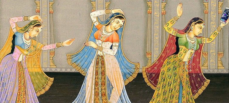 Selfie craze gets divine: Artist animates old paintings with new phones