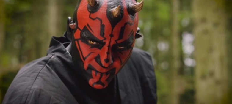 [Video] The new Star Wars fan film that brings back Darth Maul