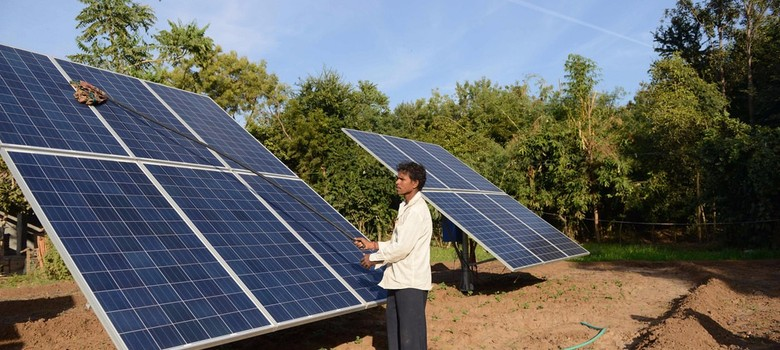 Cheaper renewable energy soars past nuclear power in India