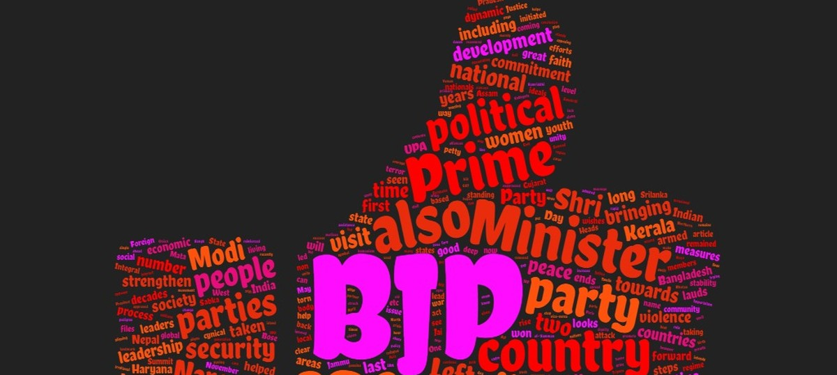 Courageous, dynamic, imaginative: BJP didn't stop at calling Modi god's gift to India