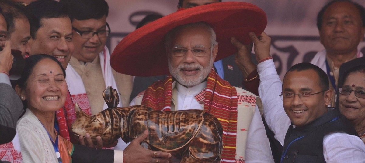 Why the rise of the BJP represents a crucial shift in the battle for the soul of Assam