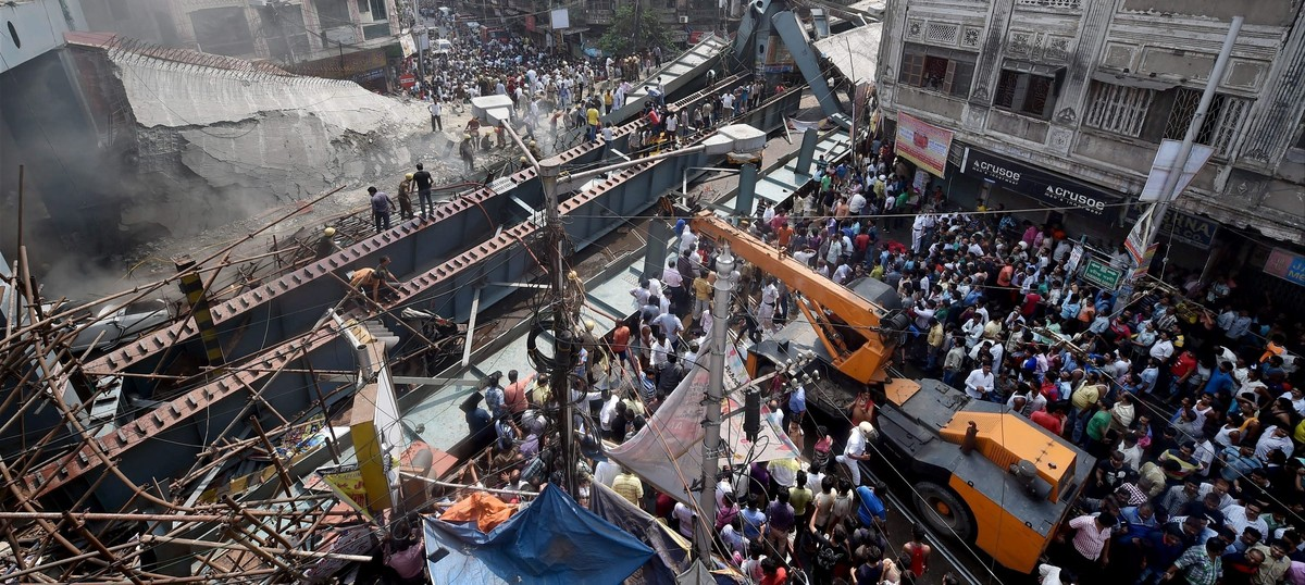 'They come and take photos to put on Facebook': Kolkata rescuers frustrated with disaster tourists