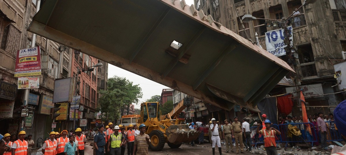 Why the Kolkata flyover collapse is a warning for India's infrastructure industry