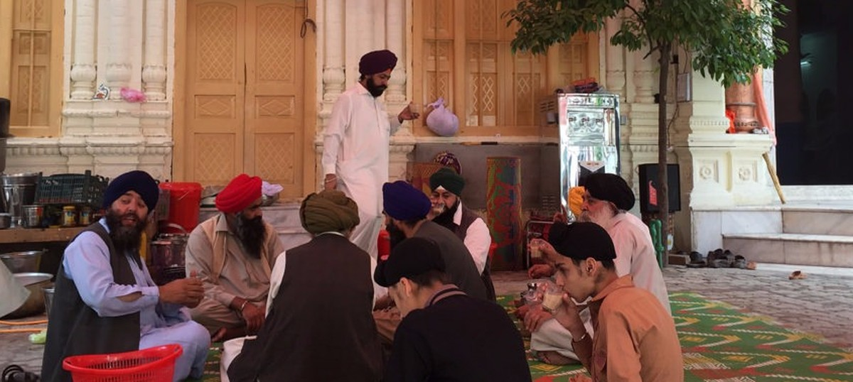 In pictures: A gurdwara opens after seven decades in Peshawar as city's Sikhs struggle for survival