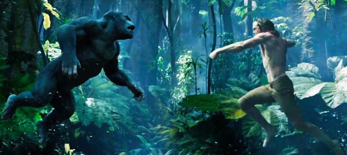 After Mowgli, meet Tarzan, the other feral child who emerged from the jungle