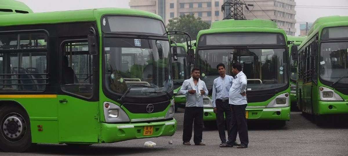 Odd-even sees Delhi bus riders jump 8% – but most staff aren't sure they'll earn even minimum wage
