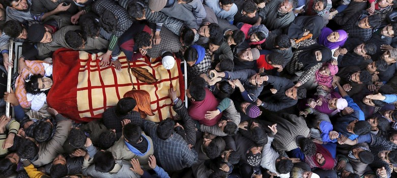 'They want us to write. In blood.' Four poems on Kashmir